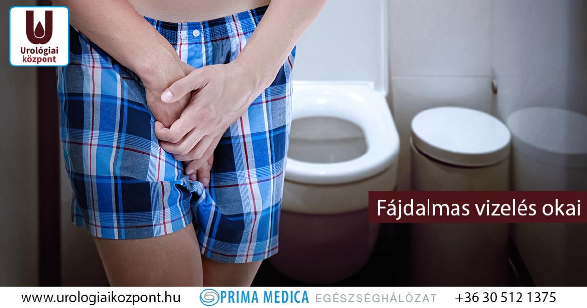 Fájdalom a prosztatában a WC után foszfátok a vizeletben prosztatitisben